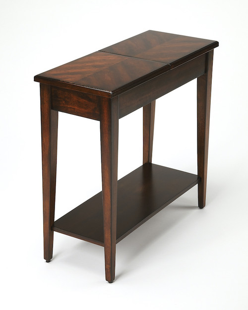 Butler Specialty Company   Jansen Plantation Cherry Chairside Table