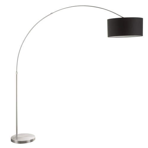 LumiSource | Salon Floor Lamp (Nickel/Black)