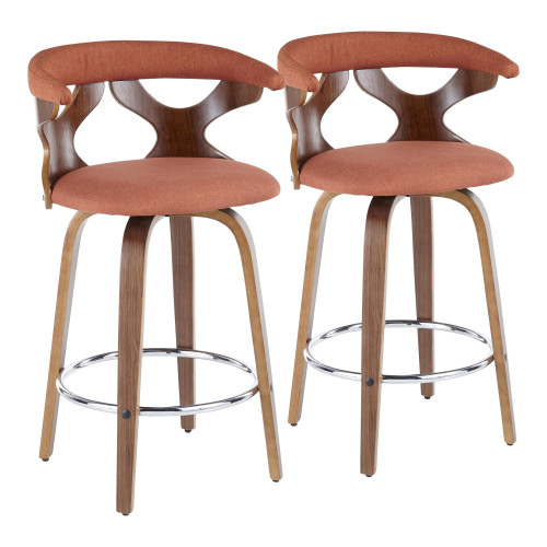 LumiSource | Gardenia Counter Stool - Set of 2