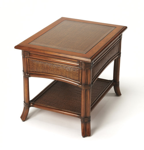 Butler Specialty Furniture | Arihi Rattan End Table