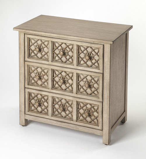 Butler Specialty Furniture | Moncreif Natural Mango Accent Chest