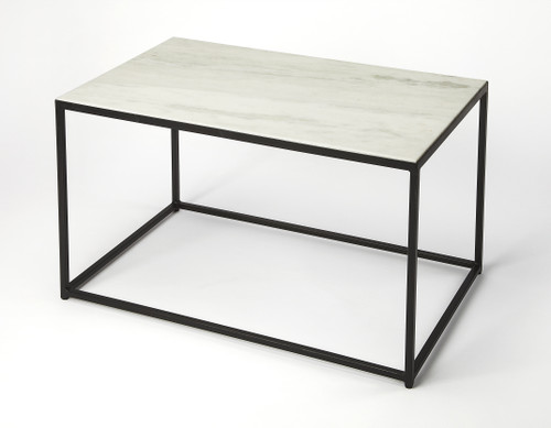 Butler Specialty Furniture | Phinney Marble & Metal Coffee Table