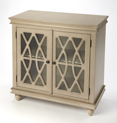 Butler Specialty Furniture | Lansing Natural Wood 2 Door Accent Cabinet