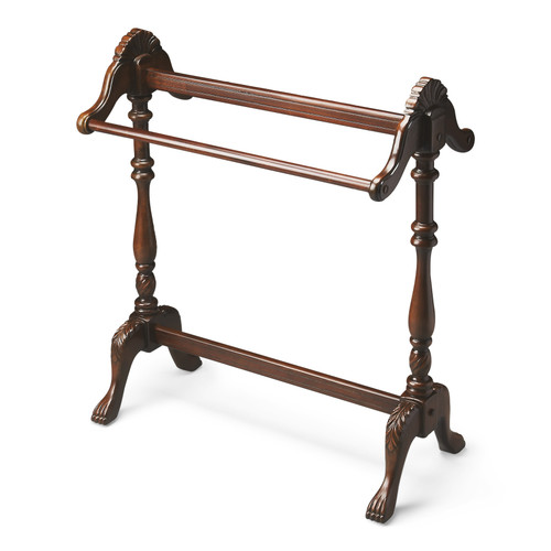 Butler Specialty Furniture | Joanna Plantation Cherry Blanket Stand