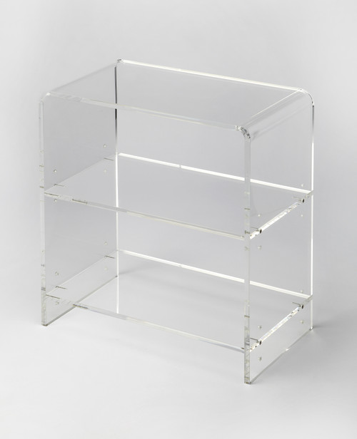 Butler Specialty Furniture | Crystal Clear Acrylic Bookcase