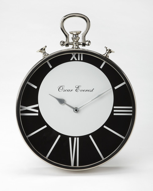 Butler Specialty Furniture | Everest Round Wall Clock