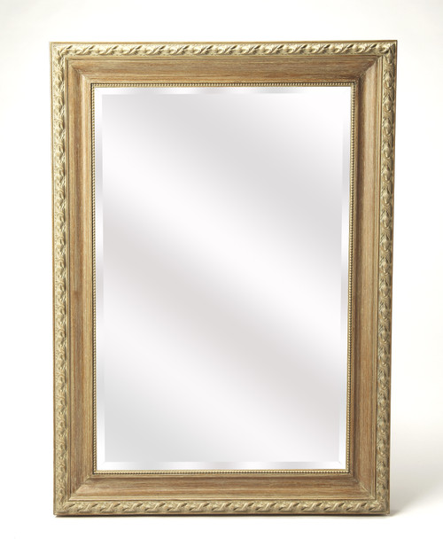 Butler Specialty Furniture | Lyndhurst Weathered Wood Wall Mirror
