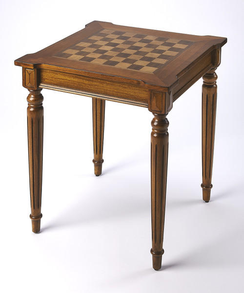 Butler Specialty Company | Doyle Olive Ash Burl Game Table