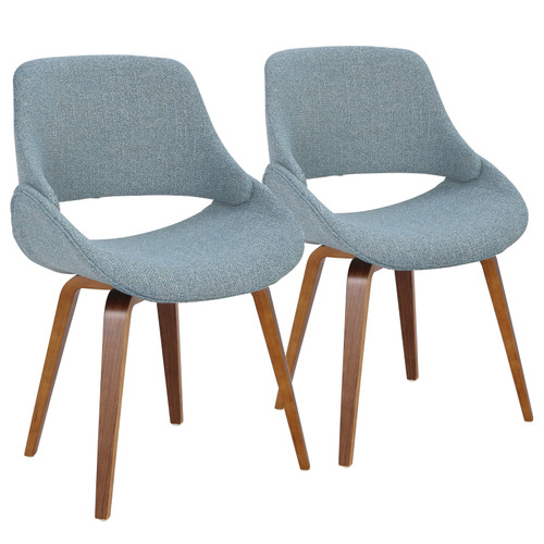 LumiSource | Fabrico Modern Dining/Accent Chair - Set of 2