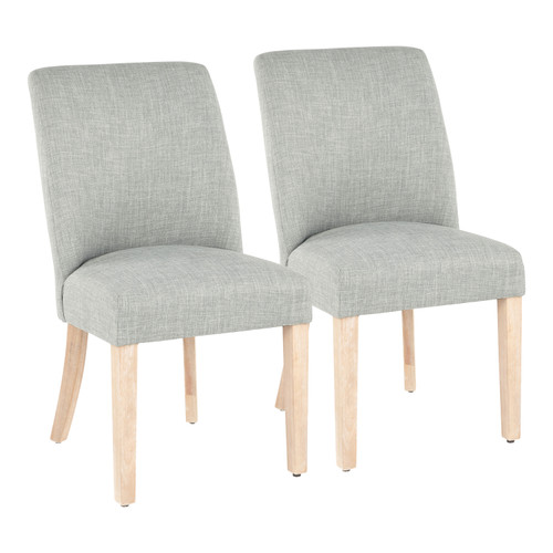 LumiSource | Tori Farmhouse Dining Chair - Set of 2