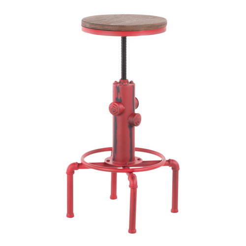 LumiSource | Hydra Industrial Barstool