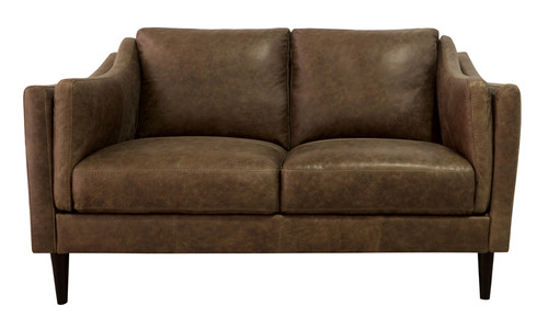 Luke Leather | 3511 BOMBER TAN LOVESEAT