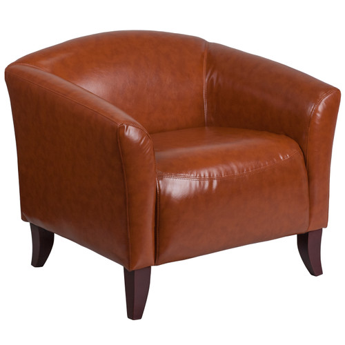 Flash Furniture | HERCULES Imperial Series Cognac LeatherSoft Chair