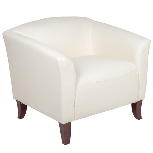 Flash Furniture | HERCULES Imperial Series Ivory LeatherSoft Chair