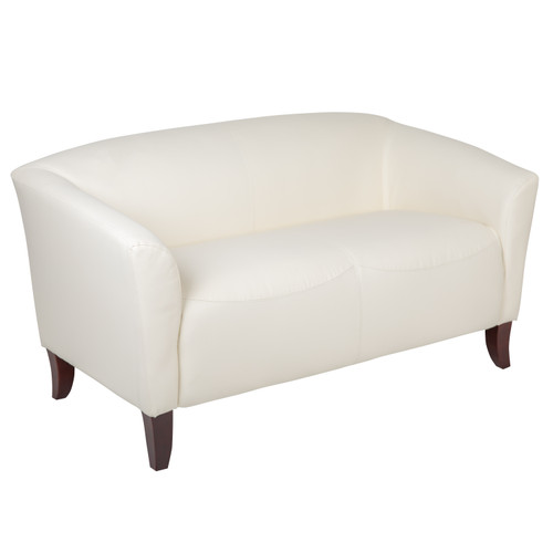 Flash Furniture | HERCULES Imperial Series Ivory LeatherSoft Loveseat