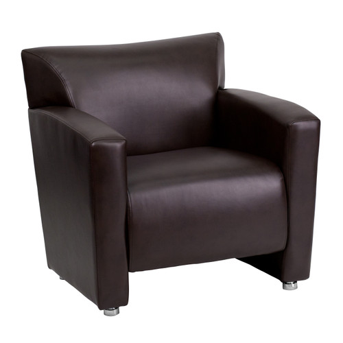 Flash Furniture | HERCULES Majesty Series Brown LeatherSoft Chair