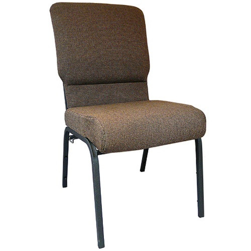 Flash Furniture | Advantage Java Church Chair with Book Rack 18.5 in. Wide
