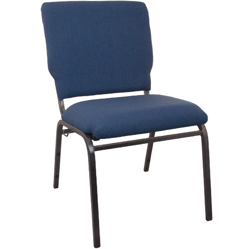 Flash Furniture | Advantage Navy Multipurpose Church Chairs - 18.5 in. Wide