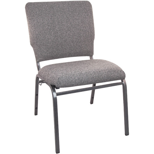 Flash Furniture | Advantage Charcoal Gray Multipurpose Church Chairs - 18.5 in. Wide