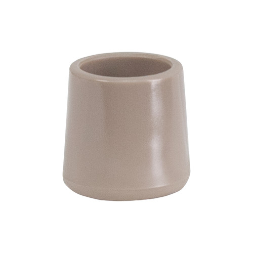 Flash Furniture | Beige Replacement Foot Cap for Beige and Brown Plastic Folding Chairs