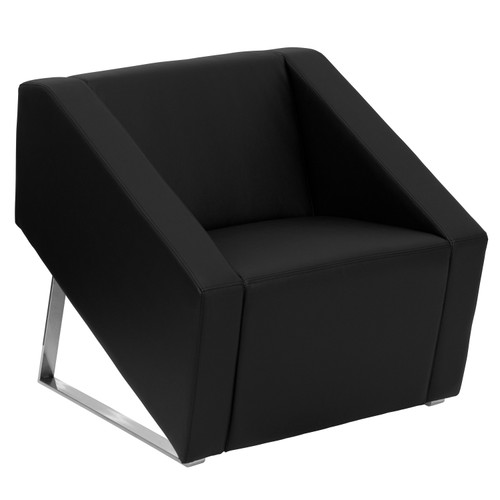 Flash Furniture | HERCULES Smart Series Black LeatherSoft Lounge Chair