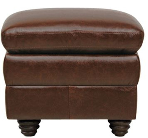 Luke Leather Levi Storage Ottoman