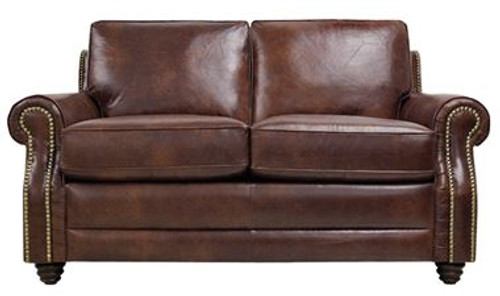 Luke Leather Levi Loveseat