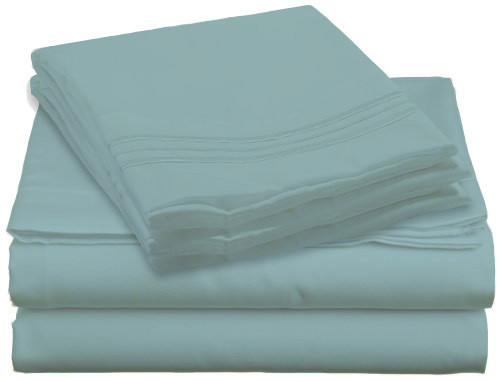 Design Center West Sheets That Breathe - Light Blue available in King, Queen, Full, and Twin sizes!