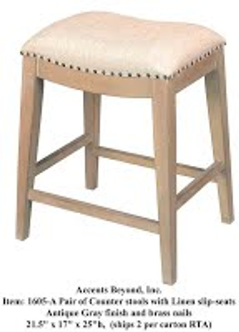 Accents Beyond | Pair of stools | 1605-A