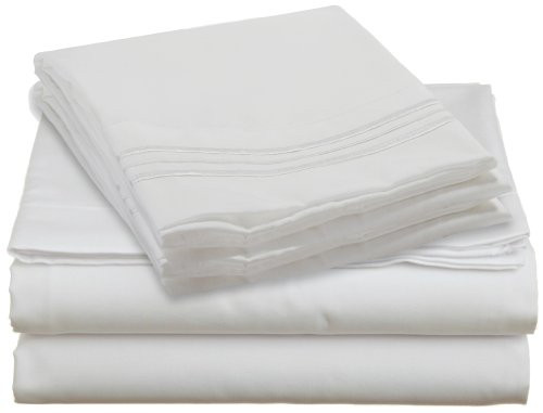 Design Center West Sheets That Breathe - White, King, Queen, Twin, and Full sizes are available!