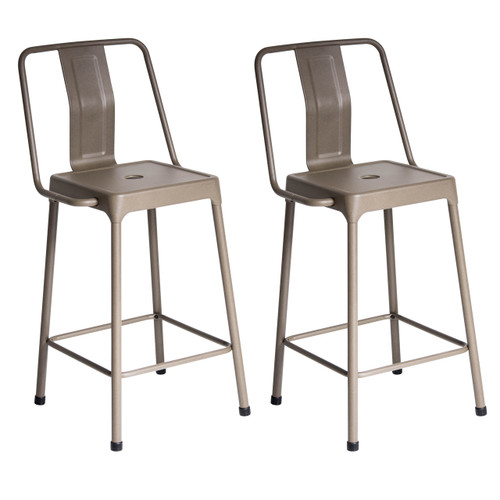 LumiSource | Energy Counter Stools - Set of 2 | CS
