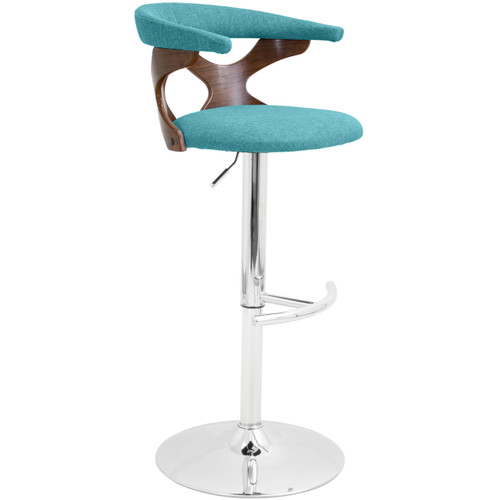 LumiSource | Gardenia Barstool (Teal)