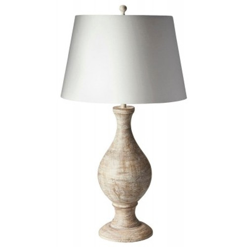 Butler Specialty Furniture |  White Wash Finish Table Lamp | Bs7132116