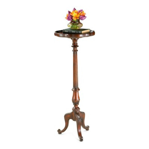Butler Specialty Furniture | Chatsworth Plantation Cherry Pedestal Plant Stand | Bs1931024