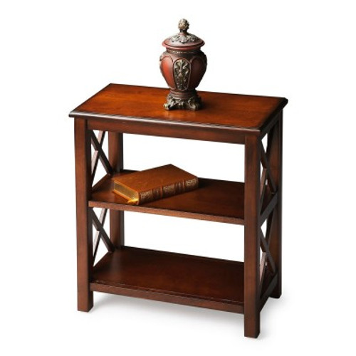 Butler Specialty Furniture   Vance Plantation Cherry Bookcase   Bs4105024