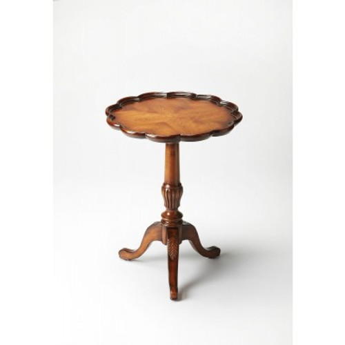 Butler Specialty Furniture | Dansby Vintage Oak Pedestal Table | Bs1482001