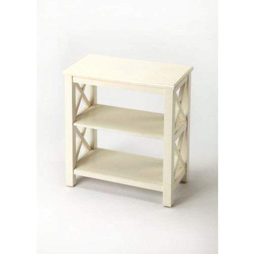 Butler Specialty Furniture | Vance Cottage White Bookcase | Bs4105222