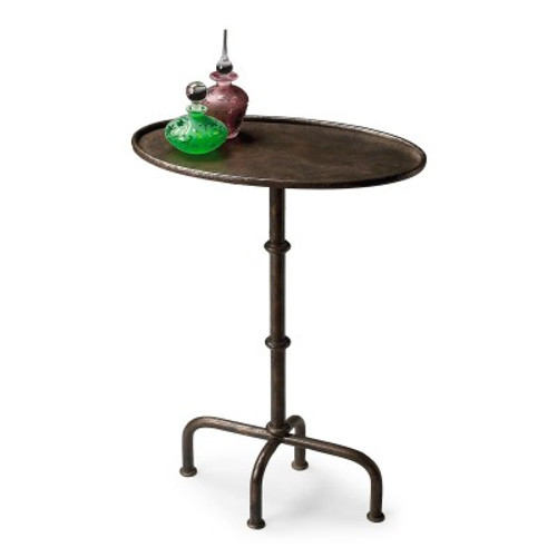 Butler Specialty Furniture | Kira Metal Pedestal Table | Bs4002025