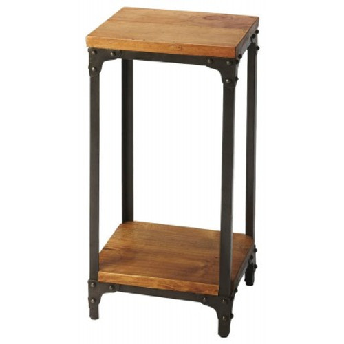 Butler Specialty Furniture | Grimsley Iron & Wood Pedestal Stand | Bs2874330