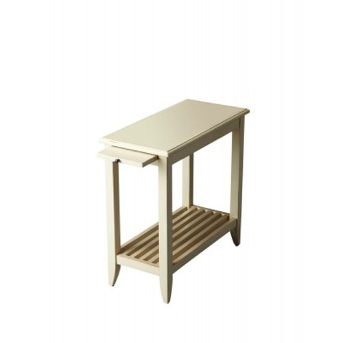 Butler Specialty Furniture   Irvine Cottage White Chairside Table   Bs3025222