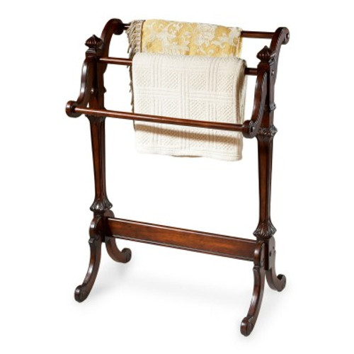 Butler Specialty Furniture | Newhouse Plantation Cherry Blanket Stand | Bs1910024