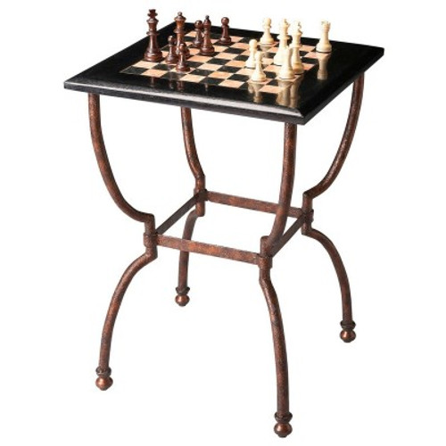 Butler Specialty Furniture |  Fossil Stone Game Table | Bs6061025