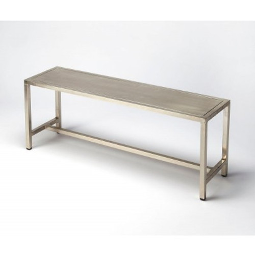 Butler Specialty Furniture | Tribeca Iron Bench | Bs6125025
