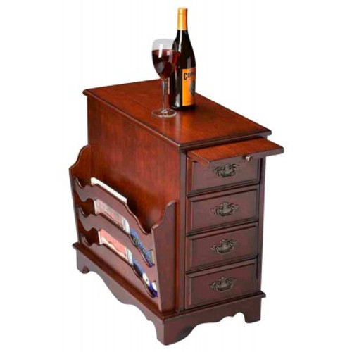 Butler Specialty Furniture   Gregory Plantation Cherry Magazine Table   Bs7038024