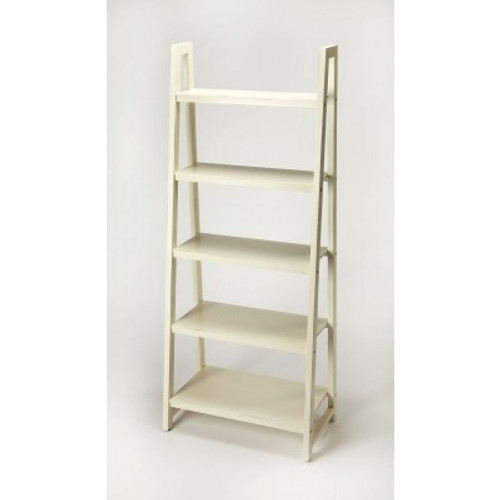 Butler Specialty Furniture   Stallings White Bookcase   Bs9342288
