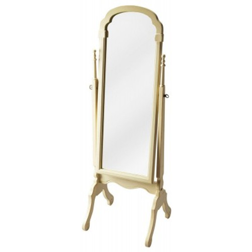 Butler Specialty Furniture   Meredith Cottage White Cheval Mirror   Bs1911222