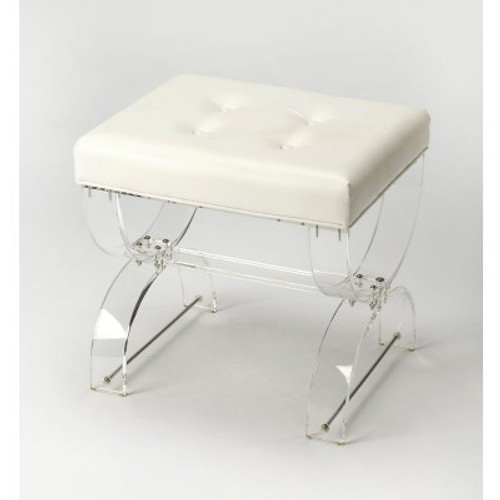Butler Specialty Furniture | Morena Acrylic Vanity Stool | Bs3739335