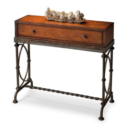 Butler Specialty Furniture | Josef Metal & Wood Console Table | Bs4013102