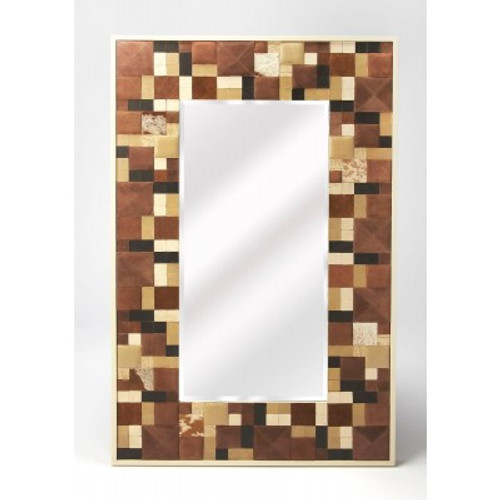 Butler Specialty Furniture   Gagne Hair-On-Hide Wall Mirror   Bs6161350