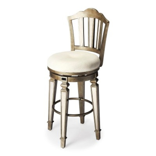 Butler Specialty Furniture   Jarnot Mirrored Bar Stool